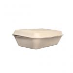 Gracz เกรซ - กล่องอาหารชานอ้อย - B001 - ขนาด 7 นิ้ว / 600 มล. แพ็ค 50 ใบ