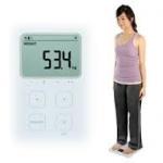 เครื่องชั่งน้ำหนัก วิเคราะห์ไขมัน Omron รุ่น HBF-214 แสดงค่า BMI,Body Age