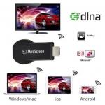 ตัวแปลงสัญญาณภาพ มือถือ/แท็บแล็ต ขึ้นจอ ทีวี ผ่าน WIFI MiraScreen HDMI Dongle For TV