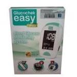 เครื่องวัดน้ำตาลในเลือด ยี่ห้อ Glucochek easy Pro+แผ่น 50 + เข็ม 100 ชิ้น