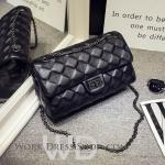 Pre-order กระเป๋าหนังแท้ สีดำ สไตล์ ZARA งานสวย หนังนิ่ม