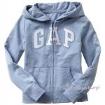 1674 Gap Kids Arch Logo Hoodies - Sky Blue ขนาด 8,10 ปี