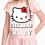 1011 H&M Hello Kitty Dress - Pink sz 6-8 ปี
