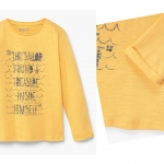 1696 Mango Boys T-Shirt - Yellow ขนาด 13-14 ปี