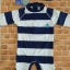 ชุดว่ายน้ำเด็กชาย บอดี้สูท สีน้ำเงิน ขาว ลายขวาง ลายเรือใบสีฟ้า ป้องกัน UV thumbnail 2
