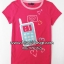1035 Gap Kids Graphic Tee - Rose ขนาด S(6-7),M(8) ปี thumbnail 1