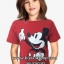 1125 H&M Micky Mouse T-shirt - Red ขนาด 12-14 ปี thumbnail 1