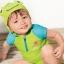 ชุดว่ายน้ำ สีเขียว พร้อมฮู้ด ลายกบ thumbnail 1