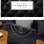 พร้อมส่ง กระเป๋าหนังแท้ สีดำ งาน Quilt สวย สายโซ่สะพายไหล่ thumbnail 9