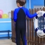 ชุดว่ายน้ำบอดีสูท เด็กผู้ชาย แขนยาว ขายาว สีน้ำเงิน-ดำ thumbnail 2