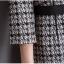Preorder ชุดทำงาน เดรสเข้ารูป แขนสามส่วน ลาย Chanel สีดำ ขาว แต่งซิปหน้า มีไซส์ใหญ่ S - XXL thumbnail 11