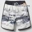 1033 Gap Kids Boys Swim Trunks - White ขนาด 10 ปี