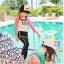 ชุดว่ายน้ำเด็ก สีชมพู SurfClub แขนยาว ขายาว ไม่มีหมวก thumbnail 3