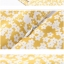 Pre-order ชุดทำงาน เดรสเข้ารูป แขนกุด ลายดอกไม้น่ารัก สีเหลือง Mustard มีไซส์ใหญ่ S - XXL thumbnail 12