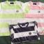 1025 Fred Perry T-Shirt - Navy Blue/Pink ขนาด 4-6,6-8,8-10 ปี thumbnail 1