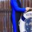 ชุดว่ายน้ำบอดีสูท เด็กผู้ชาย แขนยาว ขายาว สีน้ำเงิน-ดำ thumbnail 1