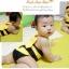 ชุดว่ายน้ำเด็ก ลายผึ้ง สีเหลืองดำ พร้อมหมวก thumbnail 3