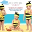 ชุดว่ายน้ำเด็ก ลายผึ้ง สีเหลืองดำ พร้อมหมวก thumbnail 1