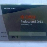 Microsoft Office Professional 2013 Lenovo PKC (FPP key) 1User