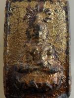 พระผงของขวัญ พิมพ์ประทานพร พระครูประกาศสมาธิคุณ วัดมหาธาตุ กทม. ปี 2506 เนื้อว่าน