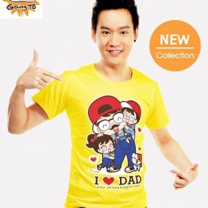 เสื้อยืด Going To - I Love Dad