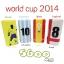 แบตสำรอง Power bank ebai มีจอ LCD EVA-5600 mAh World Cup Series thumbnail 1