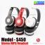 หูฟัง บลูทูธ ไร้สาย Monster Beats solo HD S450 Bluetooth Stereo Headset thumbnail 1