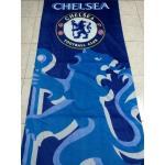 ผ้าขนหนูเช็ดตัว ขนาด 80 x 150 cm เนื้อผ้าฝ้าย ลายทีมฟุตบอลเชลซี (Chelsea) สำเนา