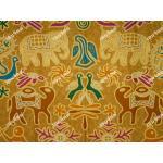 ผ้าถุงเอมจิตต์ ec9730 เหลือง