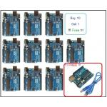 Arduino UNO R3 +Free USB Cable (Buy 10 Get 1 Free)