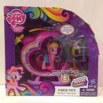ชุดของเล่นมายลิตเติ้ลโพนี่ พิงค์กี้พาย (Pinkie Pie) พร้อมเฮลิคอปเตอร์ : My Little Pony Pinkie Pies Rainbow Helicopter Playset