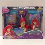 เซตอาบน้ำ + สระผม เจ้าหญิงแอเรียล : Disney Princess The Little Mermaid Soap & Scrub Set, 3 pc