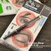(ขายพร้อมส่ง)PARTY QUEEN Brown Pen - Long Wearing Brow Tint ทิ้นเขียนคิ้ว 3 มิติ แบบปากกาอายไลน์เนอร์ กันน้ำกันเหงื่อตลอด 24 ชม.