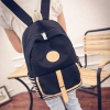 Pre-order กระเป๋าเป้สะพายหลัง มีเข็มขัดด้านหน้า แฟชั่นเกาหลีน่ารัก Fashion bag รหัส G-603