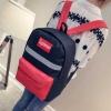 Pre-order กระเป๋าเป้สะพายหลัง ลายเก๋ๆ เรียบง่าย แฟชั่นเกาหลีน่ารัก Fashion bag รหัส G-680