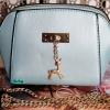 พร้อมส่ง KB-623-1-สีฟ้ามุก กระเป๋าสะพายไซร์มินิน่ารักสายสะพายโซ่แต่งอะไหล่รูปกวาง
