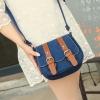 Pre-order กระเป๋าสะพายข้าง สายรัดคู่เก๋ๆ แฟชั่นเกาหลีน่ารัก Fashion bag รหัส G-349