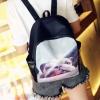 Pre-order กระเป๋าเป้สะพายหลัง มีเข็มขัดด้านหน้า แฟชั่นเกาหลีน่ารัก Fashion bag รหัส G-2438