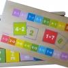 ของเล่นไม้ เกมจับคู่บวก ลบเลข (81 ชิ้น) พร้อมกล่องไม้