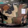 พร้อมส่ง DB-3319-ลายทหารเข้ม กระเป๋าสะพายผ้า polyester-เนื้อหนาสไตล์ Anello ไซร์ใหญ่ 11 นิ้ว