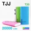 Power bank TJJ T20 แบตสำรอง 20000 mAh ลดเหลือ 275บาท ปกติ 720 บาท