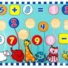 ของเล่นไม้กระดานสวนสัตว์บวก ลบ เลข 0 - 9