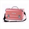 (ขายพร้อมส่ง)กล่องเครื่องสำอางค์ Mint Bear  ขนาด 39*19.5*23 cm  สีชมพู