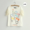 Pre Order เสื้อยืด Hello Kitty ผ้าคอตตอน สไตล์เกาหลี