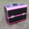 (ขายพร้อมส่ง)กล่องเครื่องสำอางค์ strong box สีชมพูดำ