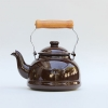 Enamel Kettle 1.6L Brown