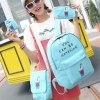 Pre-order กระเป๋าเป้สะพายหลัง เซ็ต4ใบ ลายน่ารักๆ แฟชั่นเกาหลีน่ารัก Fashion bag รหัส G-809