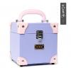 (preorder)กล่องใส่เครื่องสำอางค์ GIKIM ขนาด 16.5*16.5*17 cm ลาย style purple