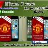 Man U iphone6 case pvc