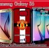 Man U.Samsung Galaxy S6 case pvc